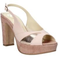 Schoenen Dames Sandalen / Open schoenen Grace Shoes JN 093 Roze