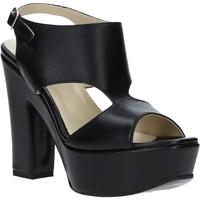 Schoenen Dames Sandalen / Open schoenen Grace Shoes TQ 102 Zwart