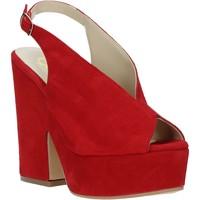 Schoenen Dames Sandalen / Open schoenen Grace Shoes ALBA 107 Rood