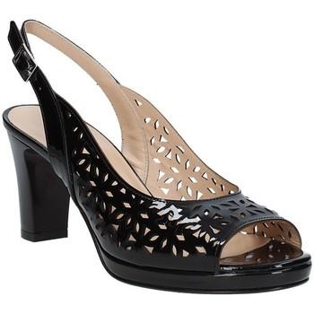 Schoenen Dames Sandalen / Open schoenen Soffice Sogno E9390 Zwart