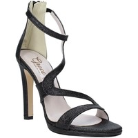 Schoenen Dames Sandalen / Open schoenen Grace Shoes 2383007 Zwart