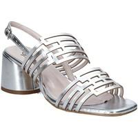 Schoenen Dames Sandalen / Open schoenen Grace Shoes 123001 Zilver