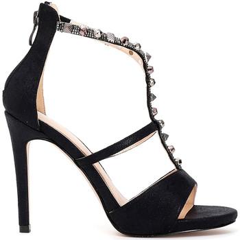 Schoenen Dames Sandalen / Open schoenen Café Noir MC902 Zwart