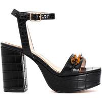 Schoenen Dames Sandalen / Open schoenen Café Noir MA924 Zwart