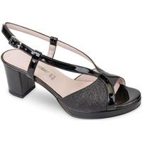 Schoenen Dames Sandalen / Open schoenen Valleverde 45373 Noir
