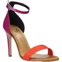 Schoenen Dames Sandalen / Open schoenen Grace Shoes 018Y037 Oranje