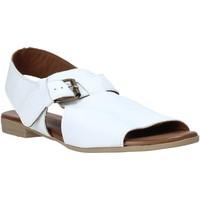 Schoenen Dames Sandalen / Open schoenen Bueno Shoes 9L2700 Wit