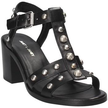 Schoenen Dames Sandalen / Open schoenen Janet&Janet 41409 Zwart