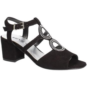 Schoenen Dames Sandalen / Open schoenen Keys 5713 Zwart