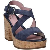 Schoenen Dames Sandalen / Open schoenen Stonefly 110365 Blauw