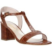 Schoenen Dames Sandalen / Open schoenen Casanova LING Bruin