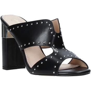 Schoenen Dames Leren slippers Gold&gold A20 GD222 Zwart