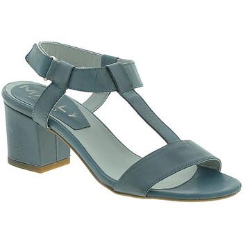 Schoenen Dames Sandalen / Open schoenen Mally 3895 Blauw