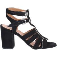 Schoenen Dames Sandalen / Open schoenen Mally 6272 Zwart