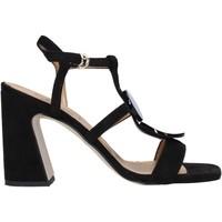 Schoenen Dames Sandalen / Open schoenen Grace Shoes 2384008 Zwart