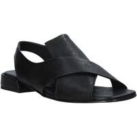Schoenen Dames Sandalen / Open schoenen Mally 5763R Zwart