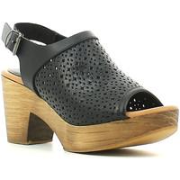 Schoenen Dames Sandalen / Open schoenen Lumberjack SW26106 001 B01 Bruin