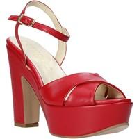 Schoenen Dames Sandalen / Open schoenen Esther Collezioni T260 CRIS Rood