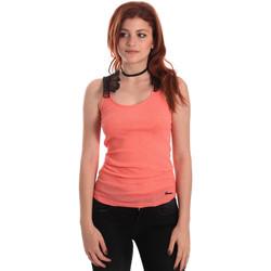 Textiel Dames Mouwloze tops Fornarina SE175J75H26368 Oranje