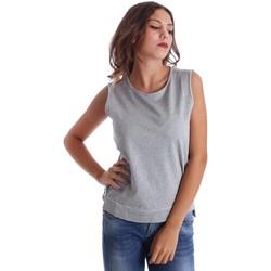 Textiel Dames Mouwloze tops Fornarina SE17T524F42990 Grijs