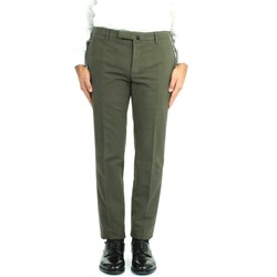 Textiel Heren Chino's Incotex 1W0030 4539Y Green