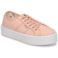 Schoenen Dames Lage sneakers Victoria BARCELONA LONA Roze