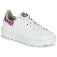 Schoenen Dames Lage sneakers Victoria UTOPIA HOLOG Wit