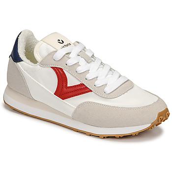 Schoenen Dames Lage sneakers Victoria ASTRO NYLON Wit / Rood / Blauw