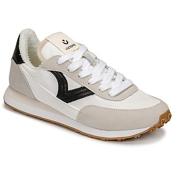 Schoenen Dames Lage sneakers Victoria ASTRO NYLON Wit / Zwart