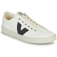 Schoenen Dames Lage sneakers Victoria BERLIN LONA GRUESA Wit / Blauw