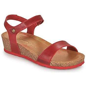 Schoenen Dames Sandalen / Open schoenen Panama Jack CAPRI Rood