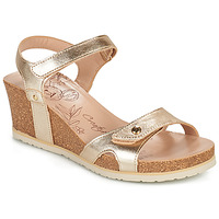 Schoenen Dames Sandalen / Open schoenen Panama Jack JULIA SHINE Goud