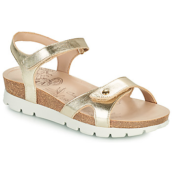 Schoenen Dames Sandalen / Open schoenen Panama Jack SULIA SHINE Goud