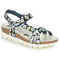 Schoenen Dames Sandalen / Open schoenen Panama Jack SALLY GARDEN Blauw