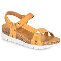 Schoenen Dames Sandalen / Open schoenen Panama Jack SALLY BASICS Geel