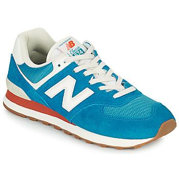 Schoenen Heren Lage sneakers New Balance 574 Blauw / Wit