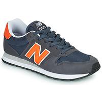 Schoenen Heren Lage sneakers New Balance 500 Blauw / Orange