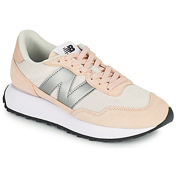 Schoenen Dames Lage sneakers New Balance 237 Roze / Zilver