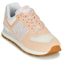 Schoenen Dames Lage sneakers New Balance 574 Roze / Blauw