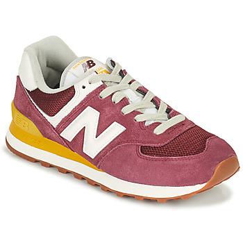 Schoenen Dames Lage sneakers New Balance 574 Bordeaux