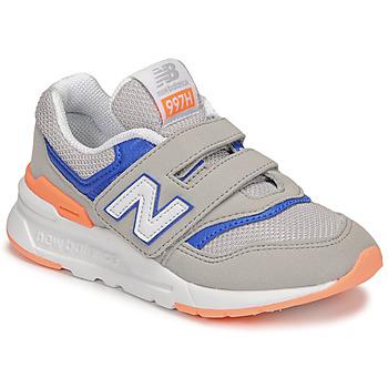 Schoenen Jongens Lage sneakers New Balance 997 Grijs / Blauw