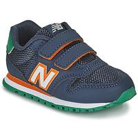 Schoenen Jongens Lage sneakers New Balance 500 Blauw / Orange