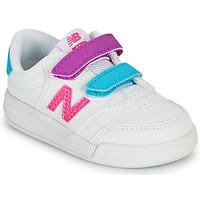Schoenen Meisjes Lage sneakers New Balance COURT Wit / Roze