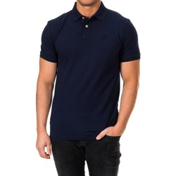 Textiel Heren Polo's korte mouwen Hackett Gmt Dye Stretch Hackett Londres Blauw