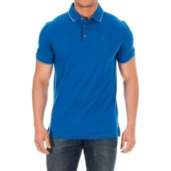 Textiel Heren Polo's korte mouwen Hackett Polo à manches courtes Blauw