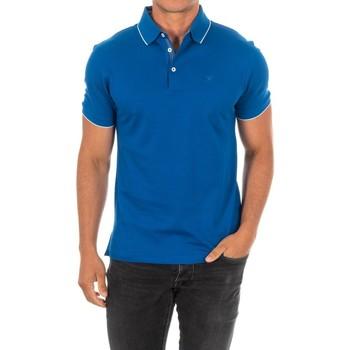 Textiel Heren Polo's korte mouwen Hackett Polo M / Short Blauw