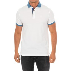 Textiel Heren Polo's korte mouwen Hackett Polo M / Short Wit