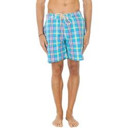 Textiel Heren Zwembroeken/ Zwemshorts Hackett Maillot de bain Hackett Bermuda Blauw