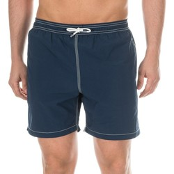 Textiel Heren Zwembroeken/ Zwemshorts Hackett Maillot de bain  Bermuda Blauw