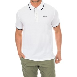 Textiel Heren Polo's korte mouwen Hackett Polo de golf Wit